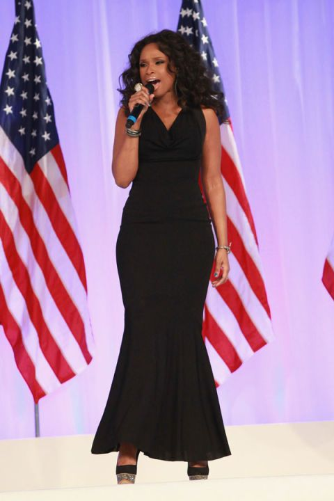 Microphone, Event, Audio equipment, Flag, Dress, Formal wear, Flag of the united states, Public speaking, Electric blue, Orator,