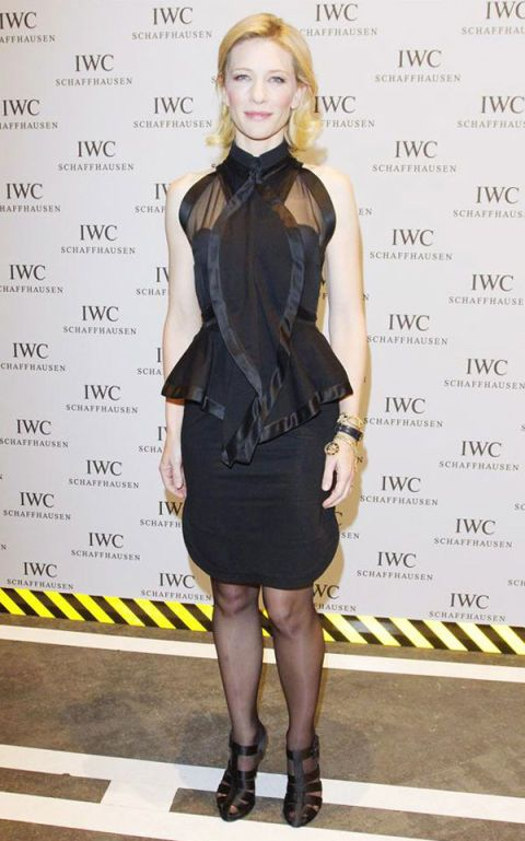Cate Blanchett in Givenchy at IWC Top Gun Gala