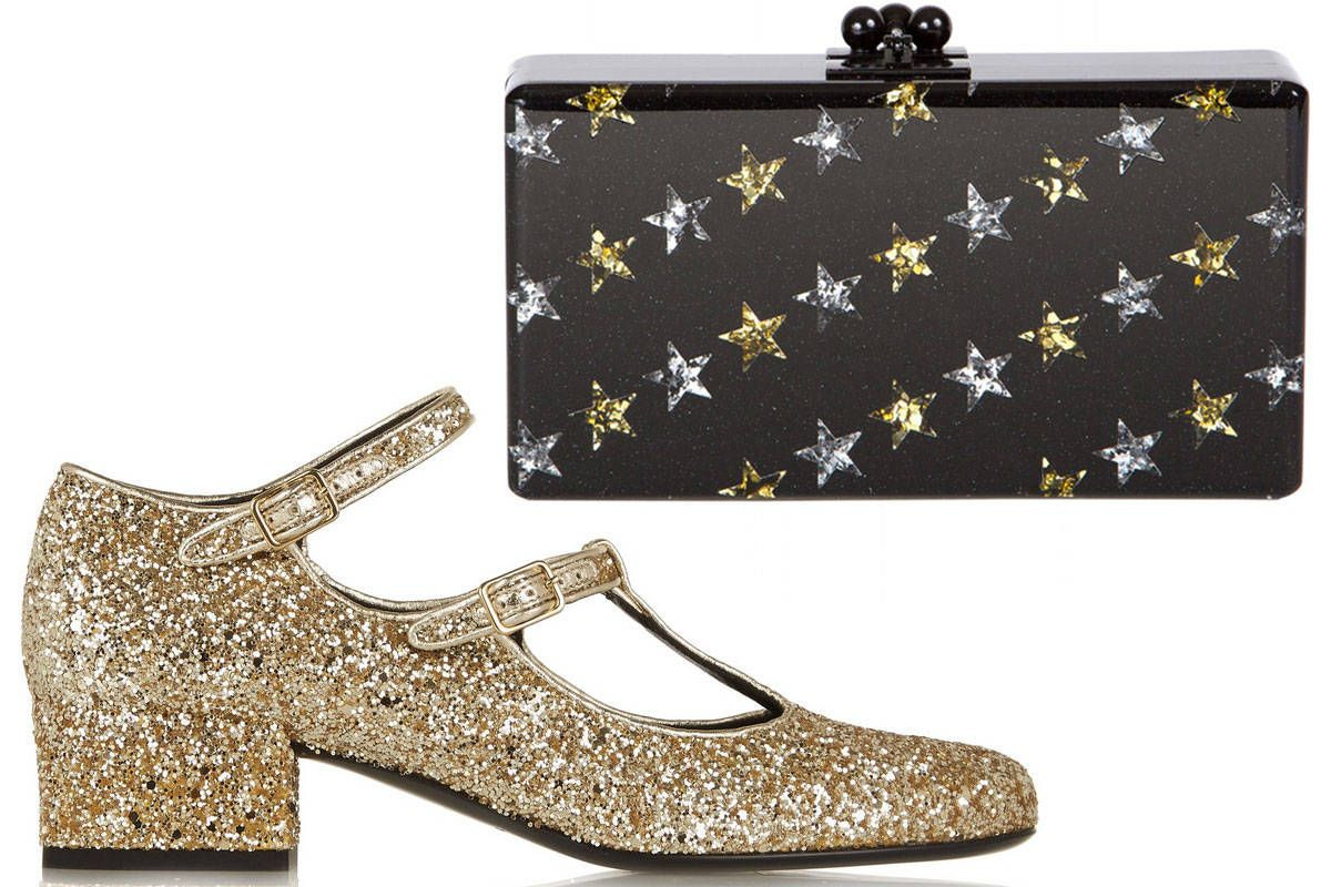 aad8860c714e Best Holiday Shoes and Bags - Glitter Accessories for the Holidays