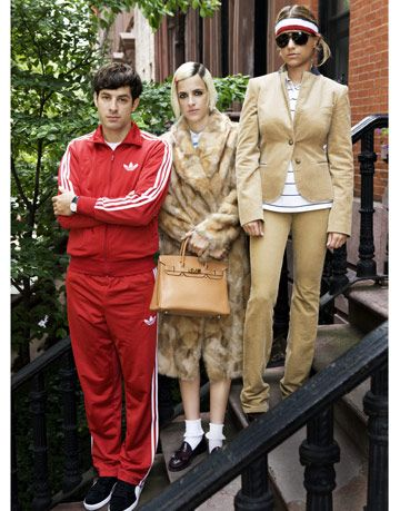 mark, samantha, and charlotte ronson