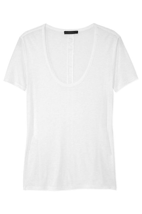 9d03e4b23f96 14 Best T-Shirts for Women 2018 - Basic White Tees to Wear Every Day