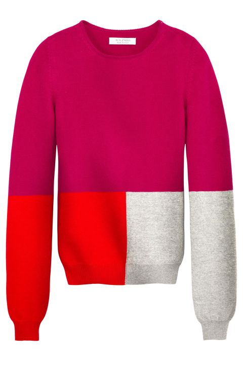 Product, Sleeve, Sweater, Textile, Red, White, Magenta, Pattern, Carmine, Fashion,