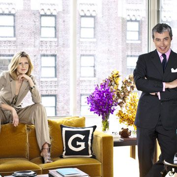 living room of new york city apartment of giorgio guidotti