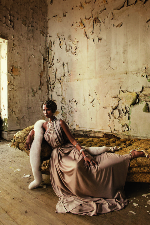 Barefoot, Foot, Ankle, Gown, One-piece garment, Stock photography, Painting,
