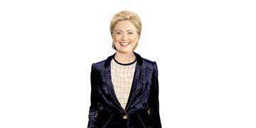 Hillary Clinton in Zac Posen