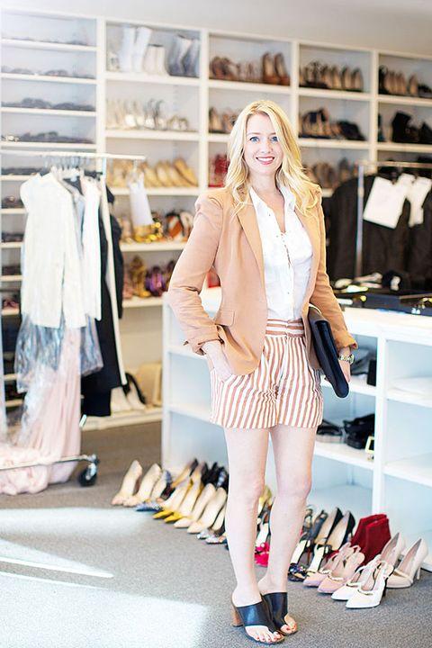 Clothing, Textile, Outerwear, Style, Shelf, Clothes hanger, Street fashion, Fashion accessory, Shelving, Fashion,