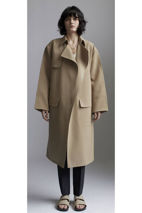 Coat, Collar, Sleeve, Textile, Joint, Standing, Outerwear, Overcoat, Style, Blazer,