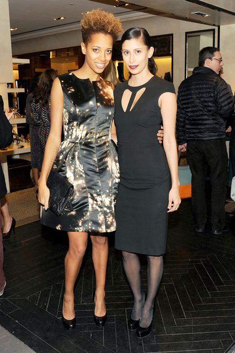 Leg, Dress, Human body, Shoulder, Joint, Outerwear, Style, One-piece garment, Little black dress, Waist,