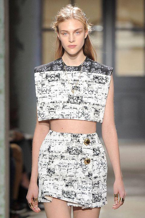 Sleeve, Shoulder, Joint, Waist, Style, Street fashion, Pattern, Beauty, Fashion, Fashion model,
