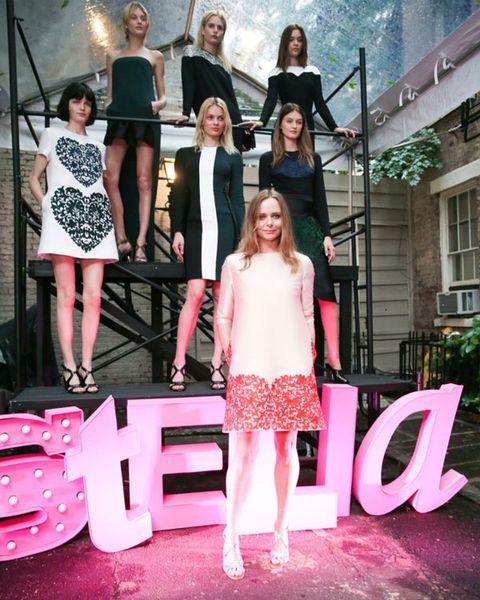 Trousers, Dress, Pink, Fashion, Magenta, Street fashion, One-piece garment, Day dress, Fashion design, Cocktail dress,