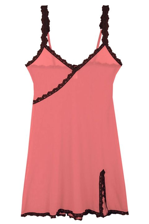 Red, Orange, Pink, Carmine, Maroon, Pattern, Neck, One-piece garment, Sleeveless shirt, Peach,