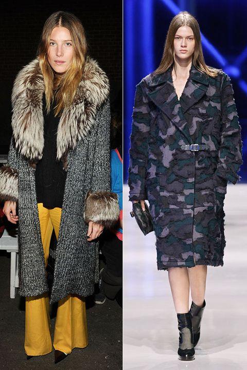 Clothing, Sleeve, Human body, Textile, Outerwear, Fashion model, Style, Coat, Street fashion, Fashion,