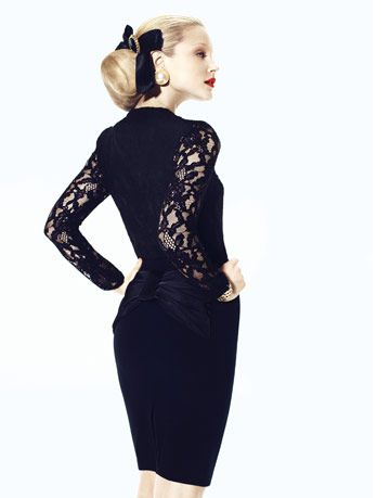 classic black clothing
