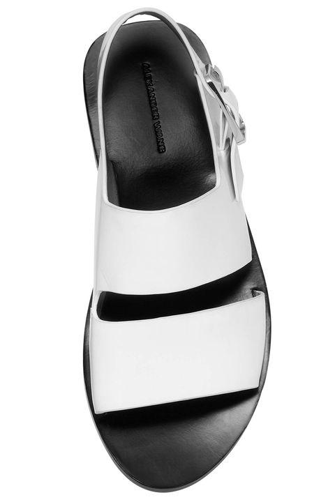 Shoe, Beige, Synthetic rubber, Dress shoe, Silver,