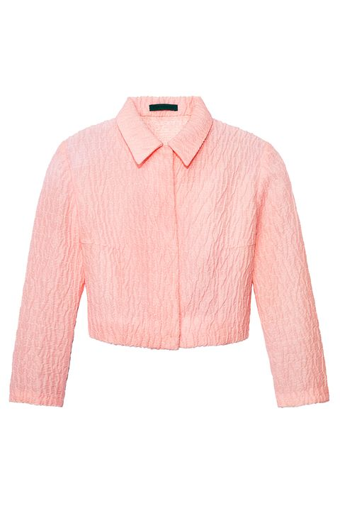 Clothing, Product, Collar, Sleeve, Textile, White, Red, Orange, Pink, Pattern,