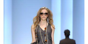 model on boss runway in berlin