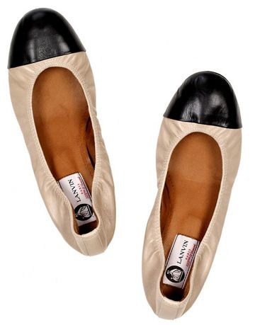 Leather Ballerina Flats