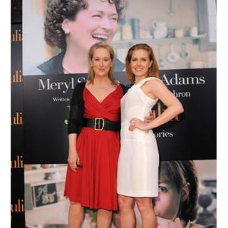 Julie Julie Movie Red Carpet Amy Adams And Meryl Streep Pictures