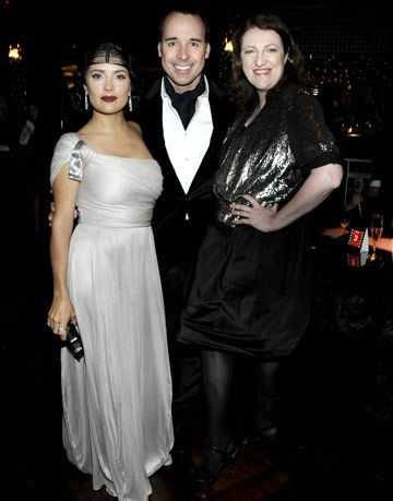salma hayek, david furnish, glenda bailey