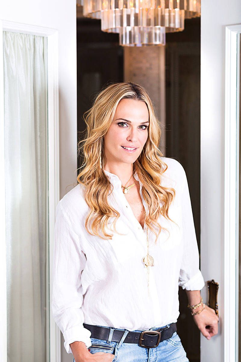 Molly Sims Beauty Secrets Hair Tips And Skin Routine
