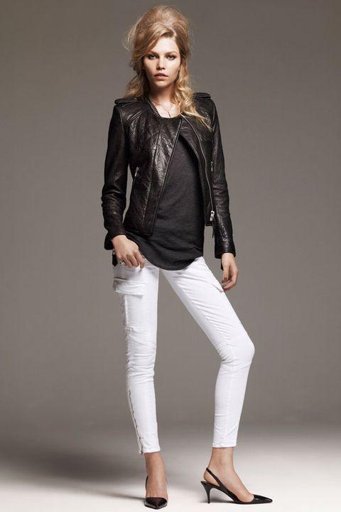 Leg, Sleeve, Shoe, Shoulder, Textile, Joint, Outerwear, Collar, Jacket, Style,