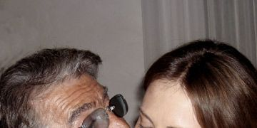 Roberto Cavalli And Charlize Theron