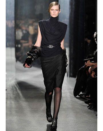 donna karan runway show