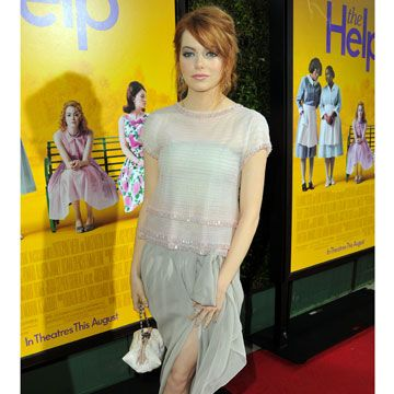 emma stone the help premiere