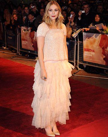 Elizabeth Olsen in Chanel Haute Couture