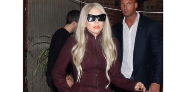 Lady Gaga in Azzedine Alaïa