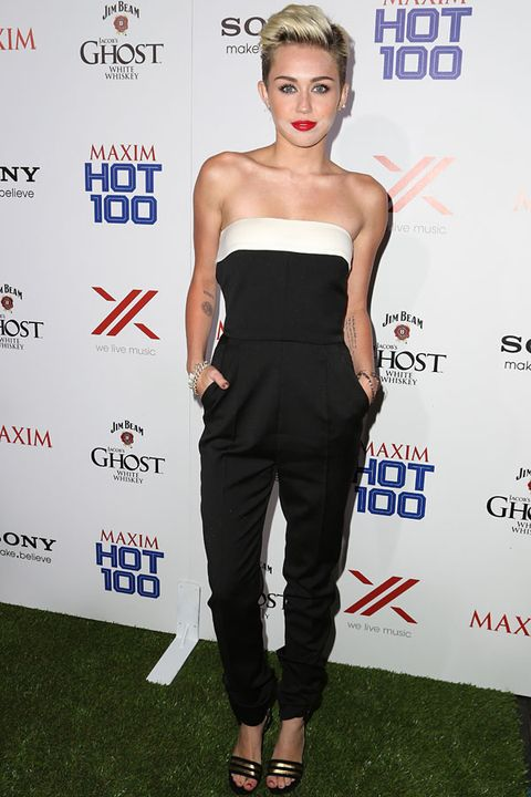 Miley Cyrus in Valentino