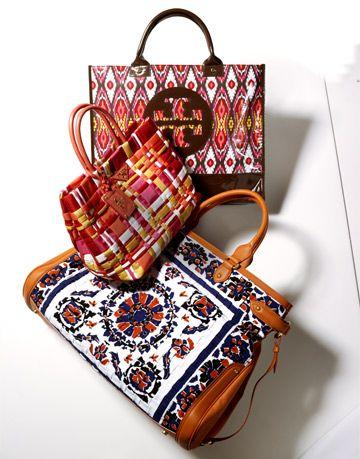 Best Accessories May 2008 Batik Prints Totes