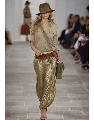 Ralph Lauren  Spring 2009 Ready-to-Wear
