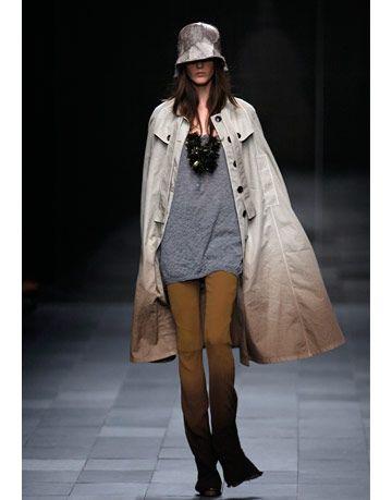 model in burberry prorsum