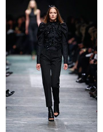 model in givenchy