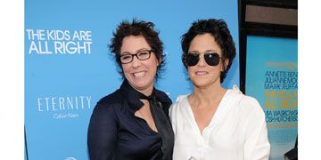 lisa cholodenko and wendy melvoin at the kids are all right premiere