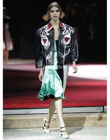 miu miu runway spring 2011