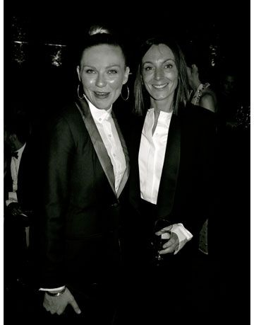 kirsten dunst and phoebe philo cfda awards