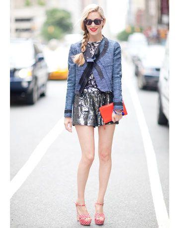 joanna hillman harpers bazaar drawstring shorts