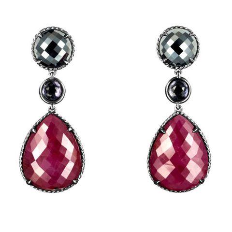 Red, Earrings, Jewellery, White, Magenta, Fashion accessory, Pink, Purple, Body jewelry, Fashion,