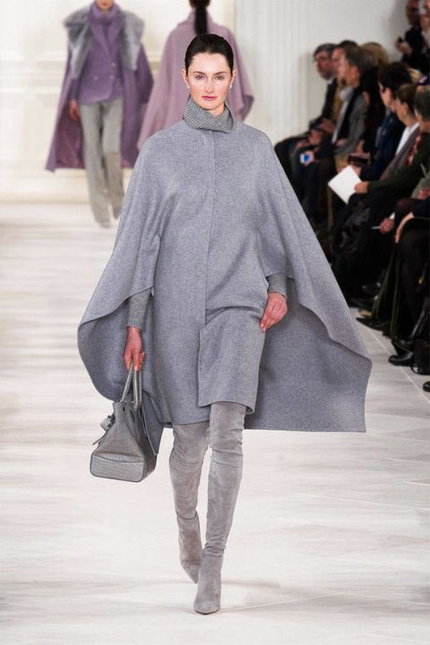 Leg, Sleeve, Human body, Shoulder, Winter, Fashion show, Textile, Joint, Outerwear, Style,