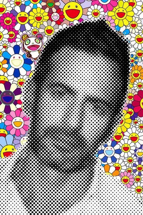 Lip, Cheek, Colorfulness, Chin, Pattern, Forehead, Eyebrow, Pink, Jaw, Art,