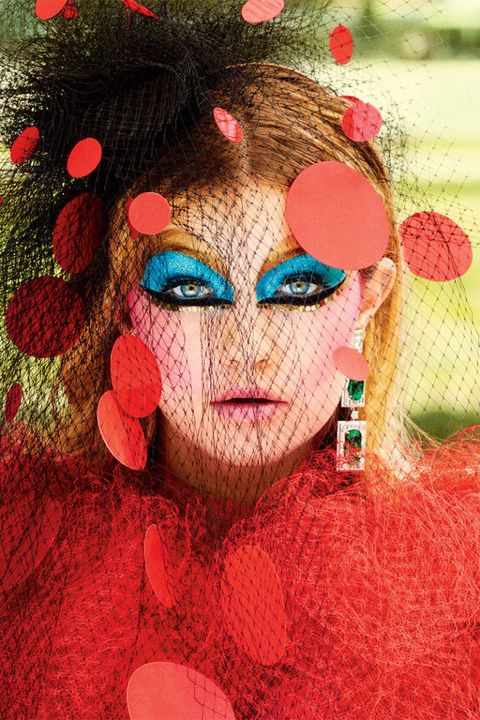 Lip, Mouth, Style, Colorfulness, Eyelash, Art, Paint, Painting, Eye liner, Makeover,