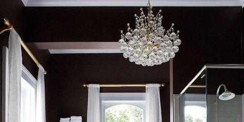 Interior design, Room, Property, Architecture, Plumbing fixture, Floor, White, Bathroom sink, Glass, Ceiling,