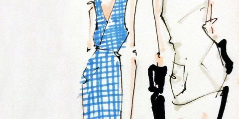 The Spring Runway Illustrated