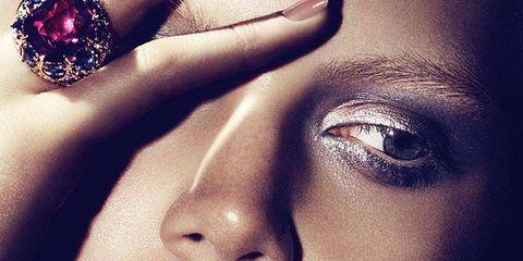 Nose, Lip, Cheek, Skin, Forehead, Eyelash, Eyebrow, Earrings, Fashion accessory, Beauty,