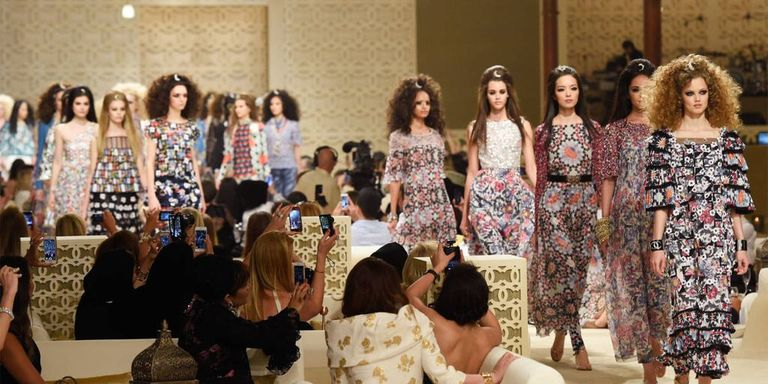 Sultan of Style: Chanel Cruises to Dubai for Resort 2015