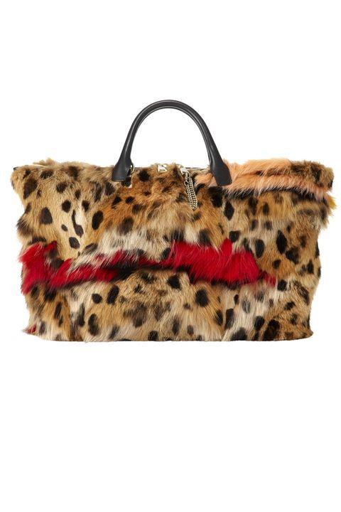 Brown, Textile, Bag, Pattern, Fawn, Fur, Tan, Beige, Shoulder bag, Natural material,