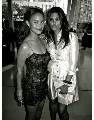 joy bryant and rachel roy cfda awards