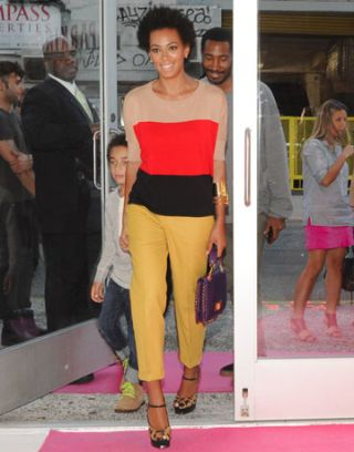 Solange Knowles in New York